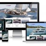 Responsive Mullti Language Corporate Website Dutch Yachts Shipyard