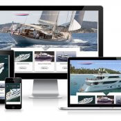 Responsive Mullti Language Corporate Website Dutch Yachts Shipyard