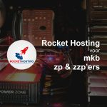 Website Hosting voor ZZP, ZP en MKB, Rocket Hosting Meppel