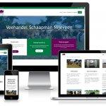 WordPress Responsive Website Veehandel Schaapman Nijeveen